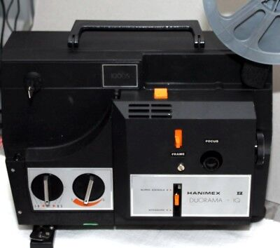 Hanimex duorama-IQ 1000S super/ Standard projector box with book as NEW