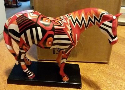 The Trail of PAINTED PONIES 'Navajo Blanket Pony' 1E/3018 Retired FIRST EDITION