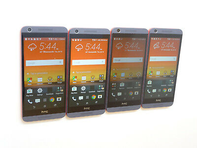 Lot of 4 HTC Desire 626s 0PM9110 T-Mobile & GSM Unlocked Smartphones AS-IS !