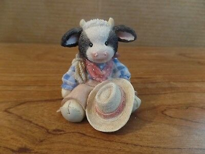 1993 Enseco Mary's Moo Moos Chip Figurine #2535