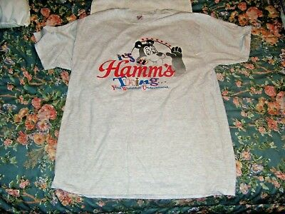 Hamm's Beer Tee-Shirt Bear says it's a Hamm's Thing You Wouldn't Understand 90's
