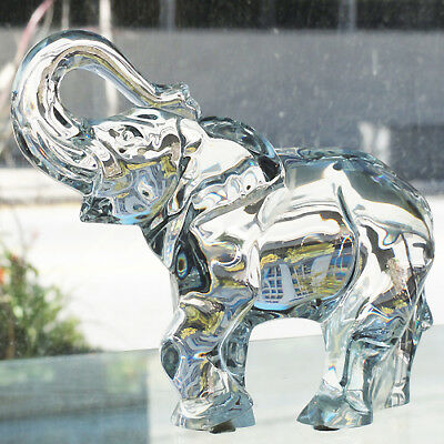 "ELEPHANT Figurine by BACCARAT 6.75"" tall #762552 NEW NEVER SOLD made Frane"