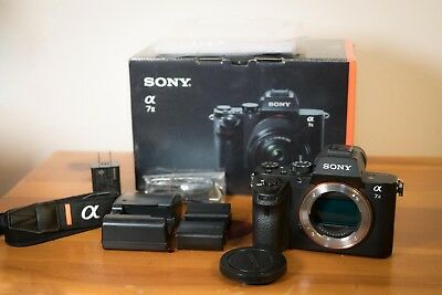 Sony Alpha a7 II 24.3MP Digital SLR Camera - Black (Body Only) Excellent cond.