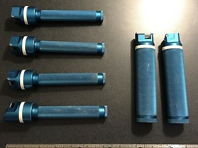 Lot of 6 Laryngoscope Handles - Vital Signs