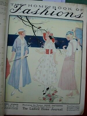 1915 CATALOGUE of HOME PATTERNS incl LADIES HOME JOURNAL
