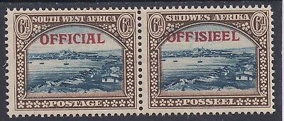 South West Africa 1945 Official 6D Pair