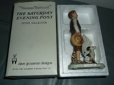 """Norman Rockwell-Saturday Evening Post Cover Col.""""Springtime"""" 1933 1974/David G."""