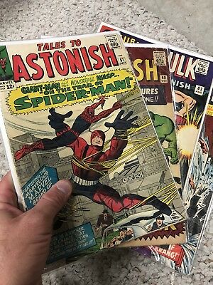 Tales To astonish #57, #60, #82, #86     4 Book Lot Stan Lee 2.0-5.0