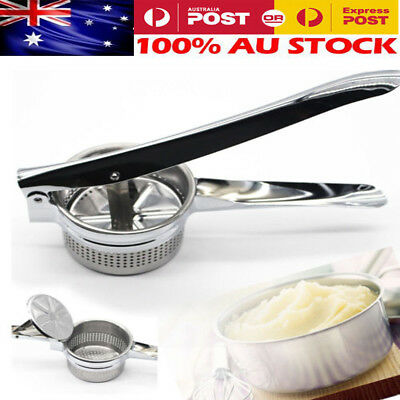 NEW Stainless Potato Ricer Masher Home Fruit Vegetable Press Maker Kitchen STOCK