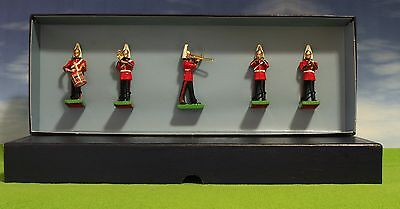 Britains - Band Of The Lifeguards #00157 - 5X Lead Figure Set Mib -Z