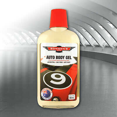 BOWDENS own AUTO BODY GEL  Give Your Car a Brilliant Glow