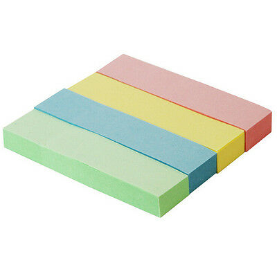 400Pages Rainbow Stickers Post It Bookmark Index Flag Sticky Notes Adhesive Note