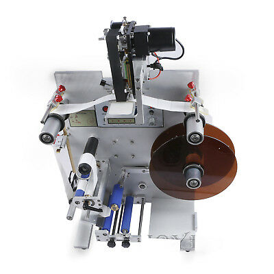 150W Round Bottle Labeling Machine Labeler Code Date Manual Digital BRAND NEW