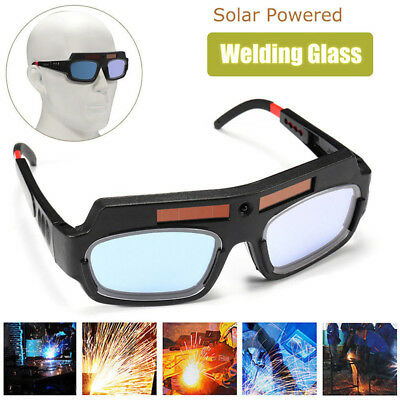 Solar Powered Auto Darkening Welding Mask Helmet Eyes Goggle Welder Glasses ee