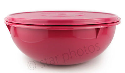 Tupperware Classic Fix-N-Mix Mixing Bowl (26-cup) in Vineyard - Brand New!
