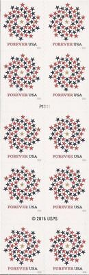 5130 2016 New USA Patriotic Spiral 2 Book Sheets of 20 Forever Stamp Stamps