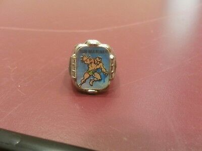 Vintage Vari Vue flasher ring Marvel comics Sub Mariner