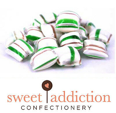 4.5kg Choc Mint Crunch Rock Candy - Boiled Sweets Lolly Buffet Wedding Favours