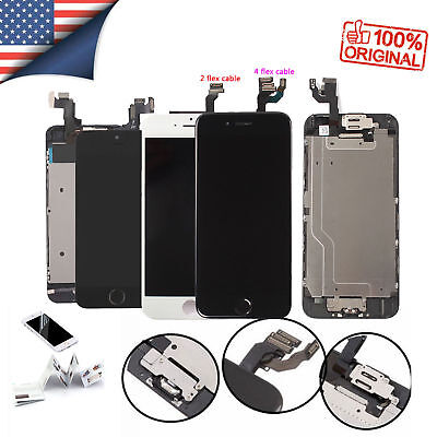 iPhone 6 6S Plus 6s LCD Screen Digitizer Replacement Assembly kit with Button