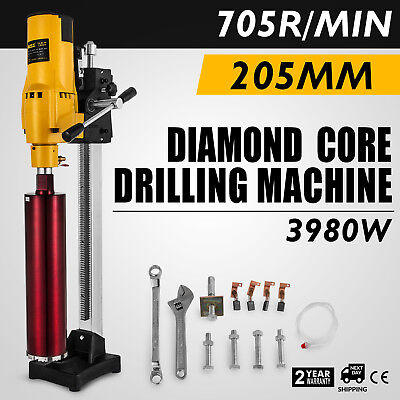 205MM Driller Drilling Press Machine Industrial Concrete Sewer Pipes