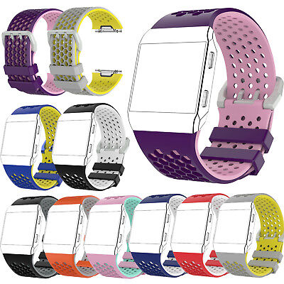 Replacement Silicone Wrist Band Strap Bracelet Watchband for Fitbit Ionic Watch