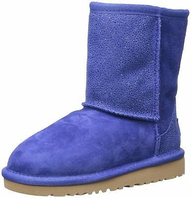 UGG Girls' Classic Short Serein-K, Night Sky 10m Toddler winter boots