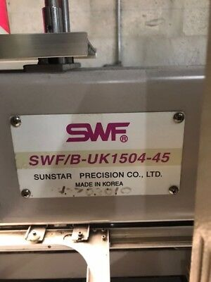 Swf 4 Head Embroidery Machine -Excellent Condition