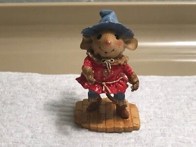 Wee Forest Folk WW0-3 Scarecrow from The Wizard of Oz set