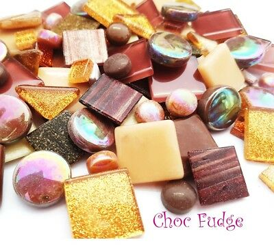 Mosaic Treasure Pots x 130pc - Choc Fudge