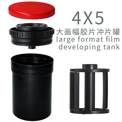 """YZY452A Compact Developing Tank 4X5 reel develop 2 sheets 4X5"""" film"""