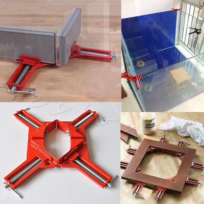 90°Degree Right Angle Picture Frame Corner Clamp Holder Woodworking Hand Kit KY