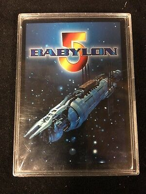 Babylon 5 CCG Mr Morden Card Signed By By Ed Wasser - Autographed