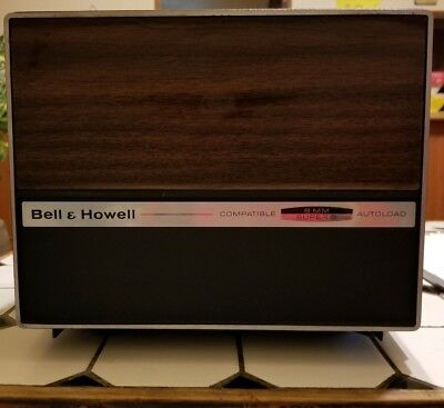 Bell&Howell 481 A Super 8/ Standard 8mm Slow Motion Movie Projector