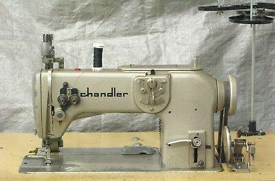 Bernina 217, 1-Needle, ZigZag, Industrial Sewing Machine, 110V, w/ cloth puller