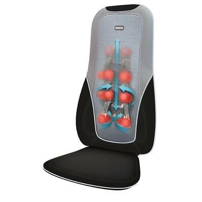 Heated SHIATSU Back Massage Chair Cushion Massager Tired MUSCLES Relax Therapy