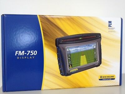 New Holland FM750 and EZ-Steer by Trimble