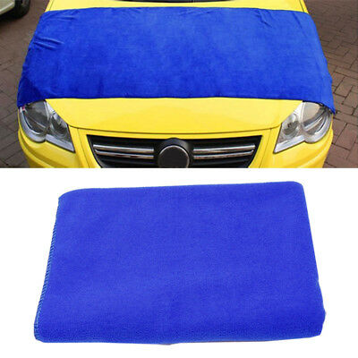 60x160cm Large Microfiber Drying Cleaning Towel Car Wash Clean Kitchen Cloths UK