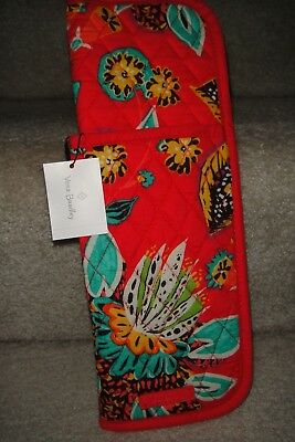 """Vera Bradley Iconic Curling & Flat Iron Cover """" Rumble"""" New Pattern.$24"""