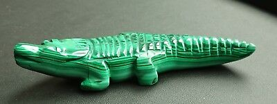 Malachite 116 grammes crocodile - Natural crocodile Malachite