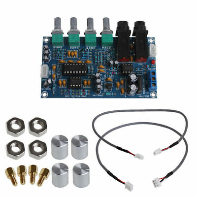 Dual Power Microphone Amplifier Board Sound AMP Module Digital Reverb Plate NEW