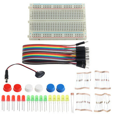 Mini Breadboard LED Jumper Wire Tested for Arduino UNO R3 Electronic Starter Kit