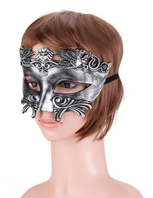 Egyptian Mens Masquerade Half Face Ancient Greek Roman Style Venetian Mask