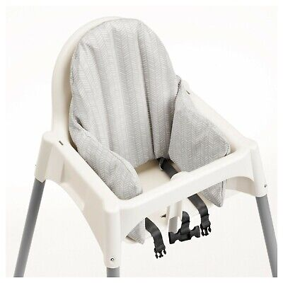IKEA Antilop Baby Highchair Cushion Cover Reversible 2 Colour yellow/Gray