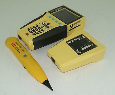 Validator NT900 - Network LAN Ethernet Cable Tester - Yellow