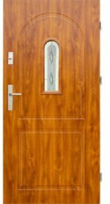 Front External Steel Door Wiked Premium Model 3 80cm or 90cm