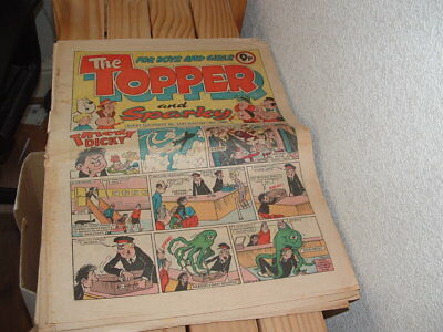 Topper Comics  7 Issues Large Format 1979/80