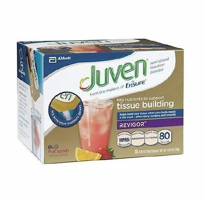 Juven Fruit Punch Special Nutrition Supplement Powder, 0.85 Ounce - Box of 30!!
