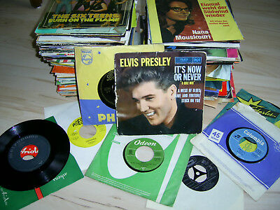 Single Sammlung 60/70/80er Jahre SWEET Elvis Beatles Dalia Lavi Heino Kincade