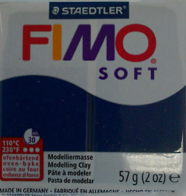Fimo Soft polymer clay 57g Windsor Blue