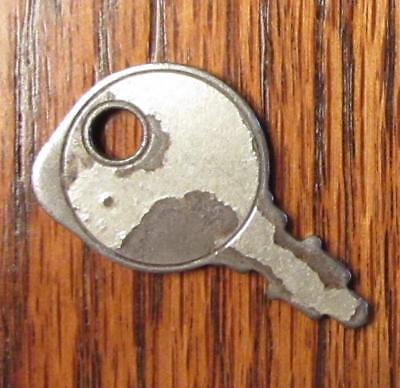 Vintage OLD KEY Garden Tractor Mower Ignition Silvertone Metal